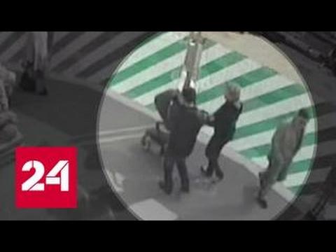 В центре Москвы неизвестный пытался украсть коляску с ребенком