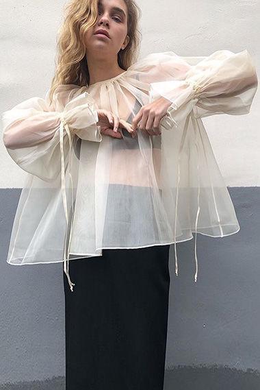 Блуза, @kilkakone_official, цена по запросу