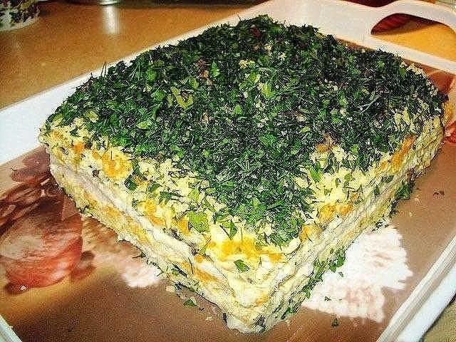 Селедочный тортик