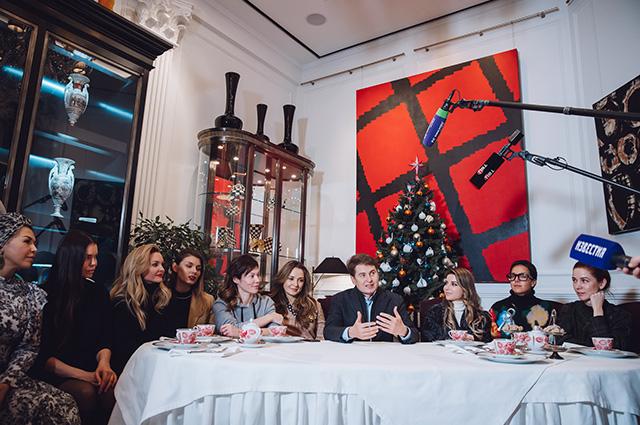 Юлия Барановская, Надежда Оболенцева, Полина Аскери и другие на рождественском базаре светская жизнь, юлия барановская, надежда оболенцева, полина аскери