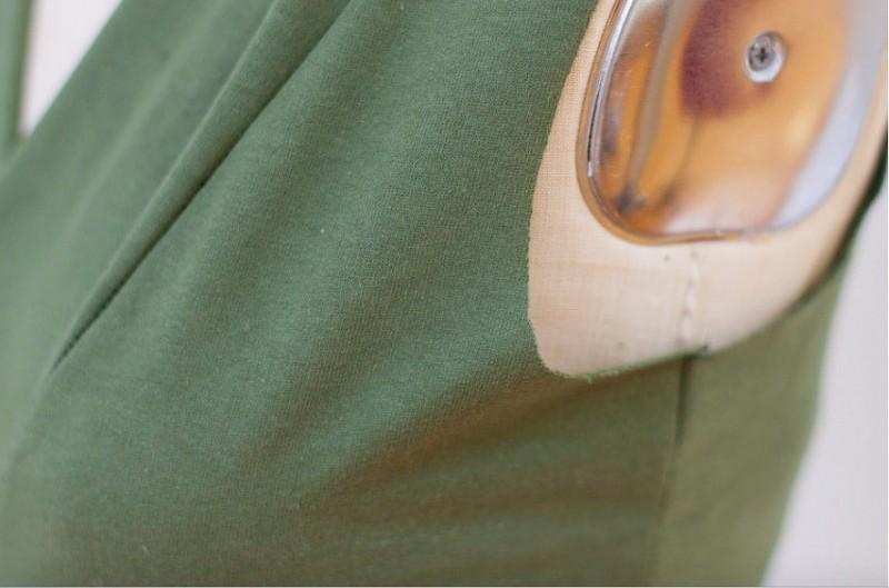 3 способа выполнить идеальную пройму в трикотажном изделии без рукавов женские хобби