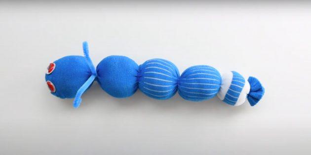 25 милых игрушек из носков, которые можно сделать своими руками игрушки,мастер-класс,рукоделие,шитье