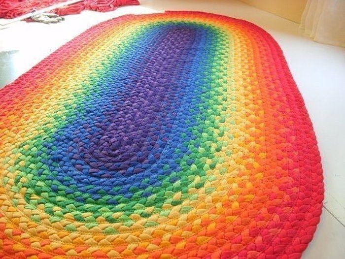 Картинки по запросу Как сделать напольные коврики: простые мастер-классы