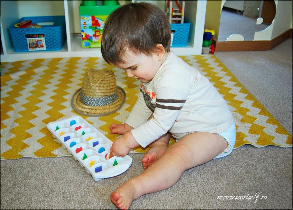 Игры с малышами для развития мелкой моторики из подручных материалов