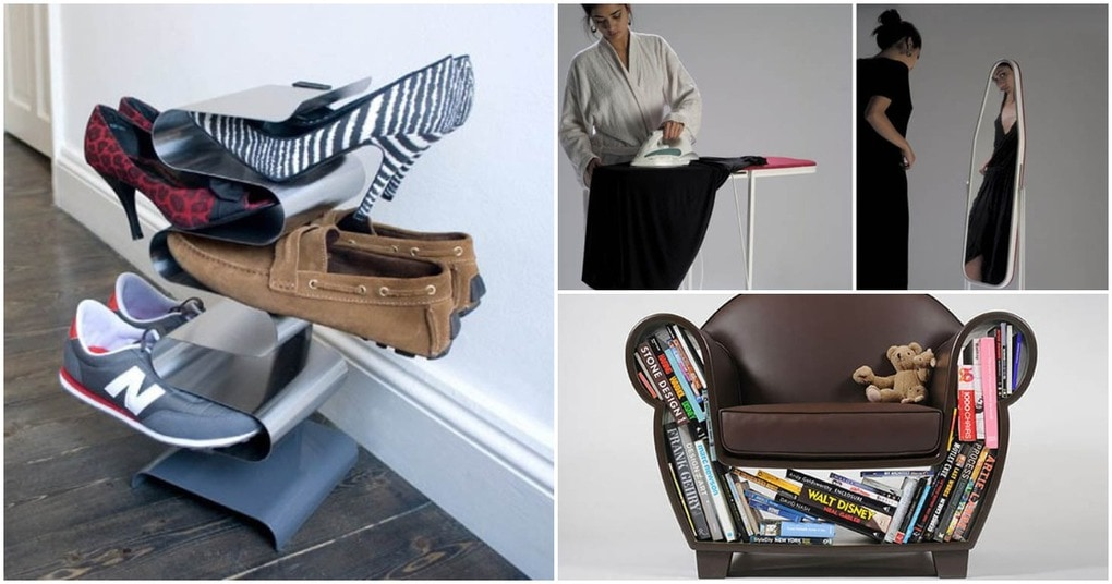 Креативный дизайн мебели, сохраняющий пространство