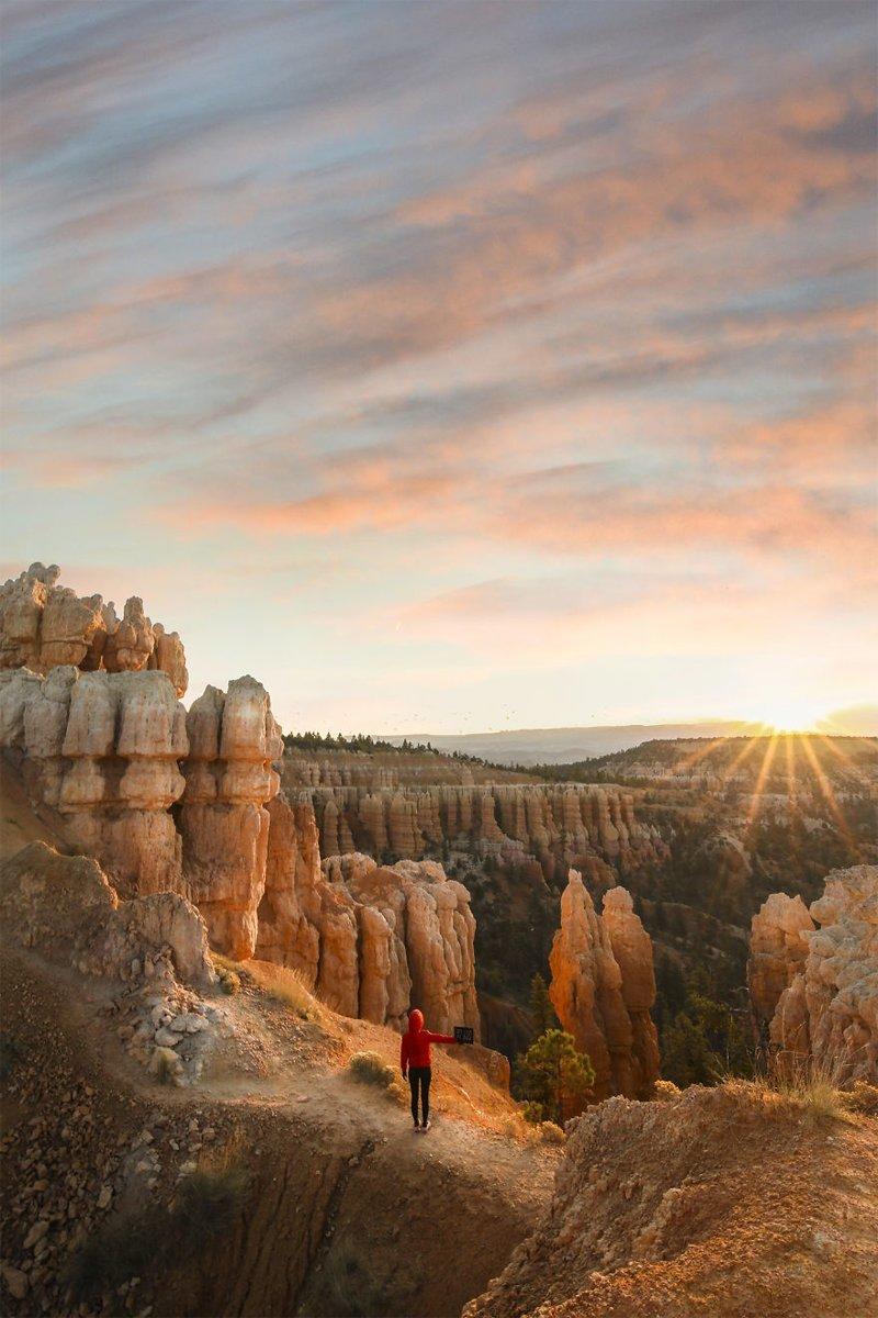 Каньон Брайс, США Кругосветное путешествие, интересно, мир в кармане, от Земли до Луны, приключения, путешествия, страны и города, увлекательно