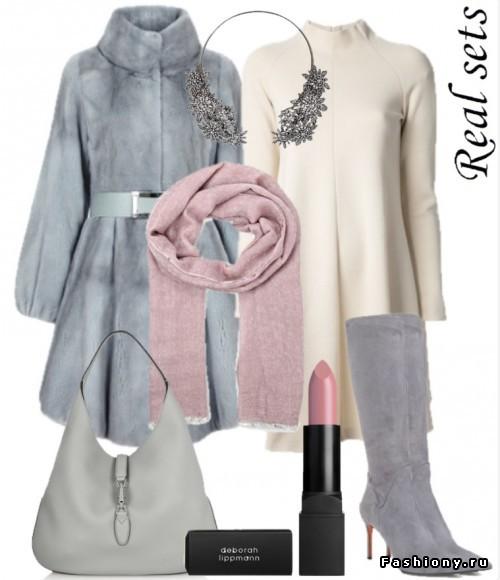 Фантазия на тему: 'Модная зима' в сетах