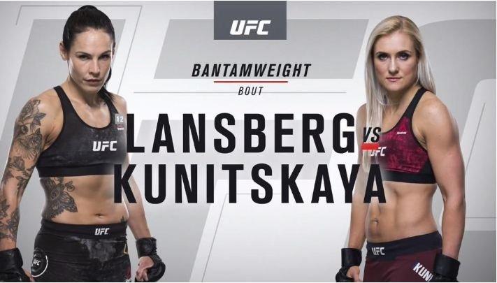 Яна Куницкая вырвала победу у своей соперницы в рамках турнира UFC 229
