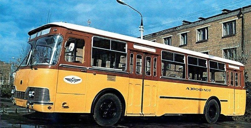 ЛиАЗ-677П история, советские автобусы, транспорт