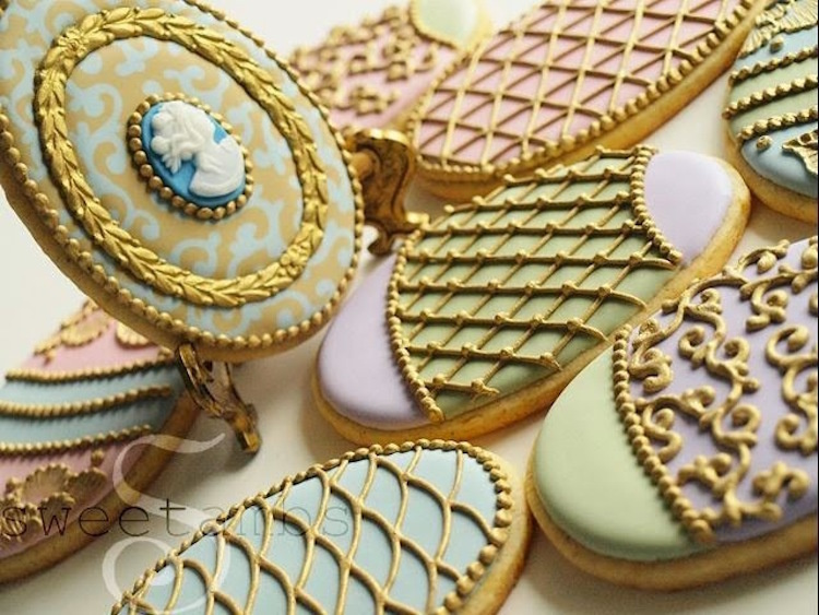 Delicious Decorative Art Cookies
