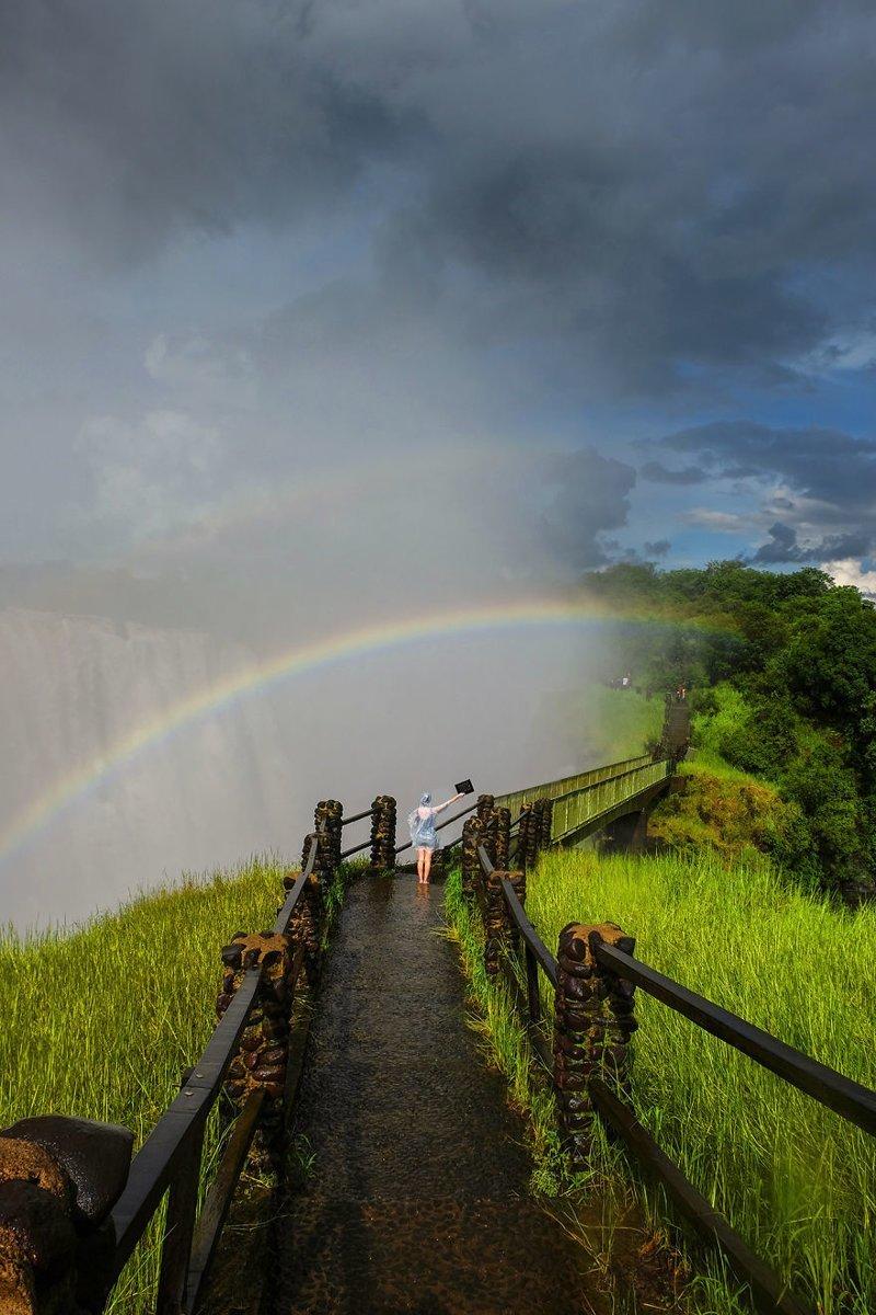 Водопад Виктория, Зимбабве Кругосветное путешествие, интересно, мир в кармане, от Земли до Луны, приключения, путешествия, страны и города, увлекательно
