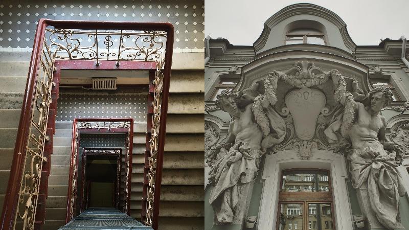 Маленький островок истории вМоскве— городе небоскребов иреноваций