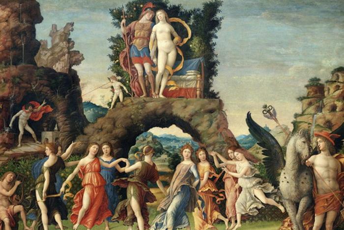 Как представляли античность в эпоху Возрождения: Картины-скульптуры Андреа Мантенья