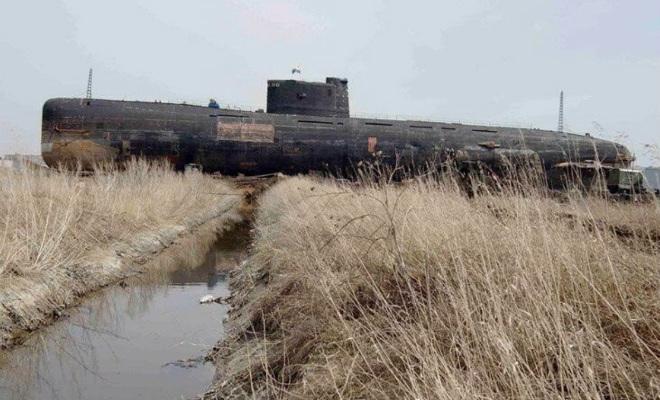 Советская субмарина среди Поволжских степей. Б-307 поставили в поле и превратили в музей Культура