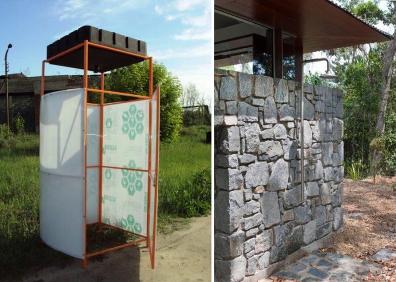 Готовимся к дачному сезону: отличные идеи для летнего душа дача,идеи для дачи,летний душ,сад и огород