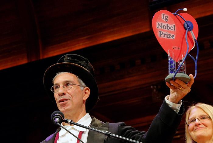 В Гарварде вручили Шнобелевс…
