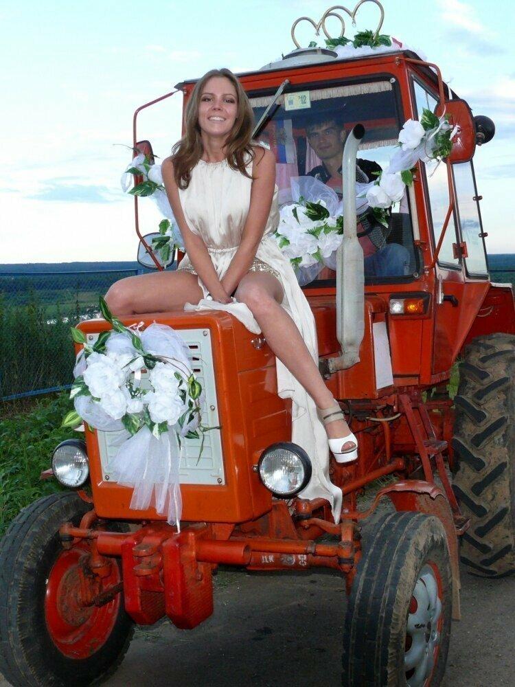 Веселые деревенские свадьбы …