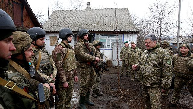 Представитель ЛНР предположил, зачем Порошенко переименовал АТО