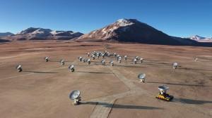Проект ALMA – ловушка для «монстров» Вселенной