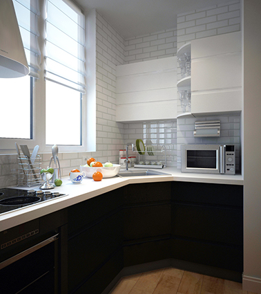 Дизайн кухни от студии Azari Architects