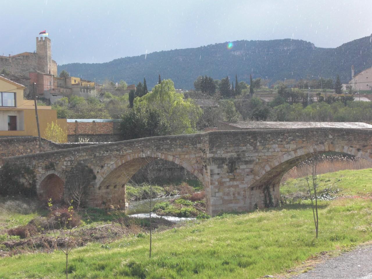 Каталония. Город Монтбланк 12-ый век.