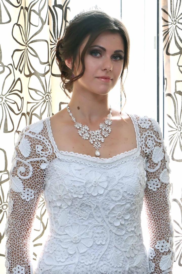 Свадебное платье на заказ.