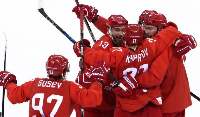 Российские хоккеисты чудом в…