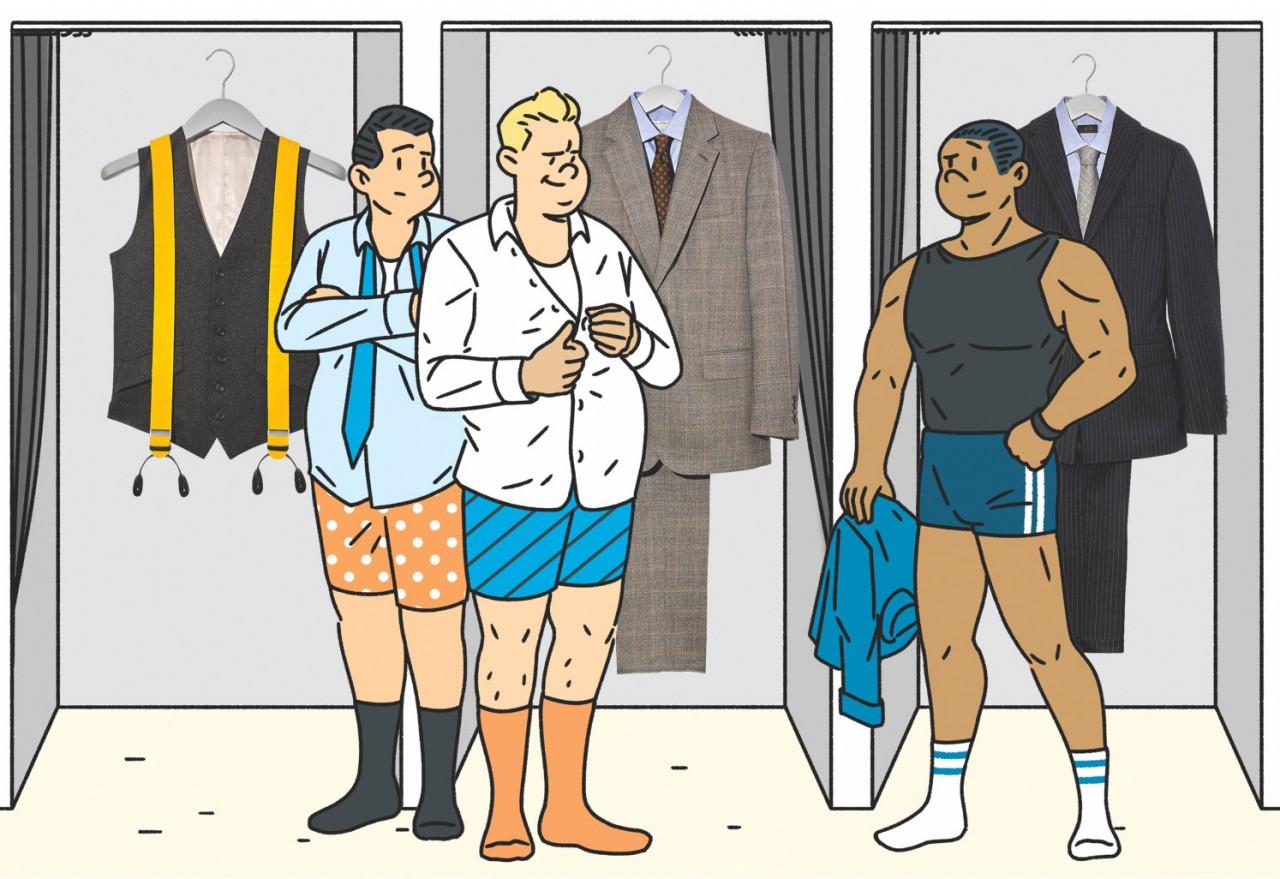 Правила выбора мужского костюма