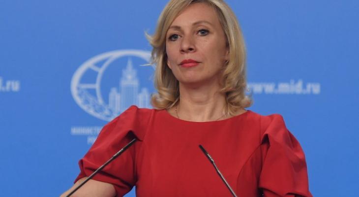 Захарова заявила о проработк…