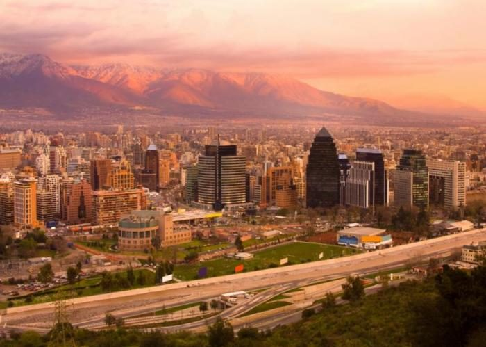 Виртуальная прогулка по столице Чили