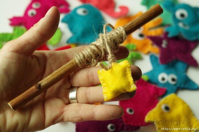 Рыбалка из фетра. Своими руками для детских игр (26) (660x440, 144Kb)