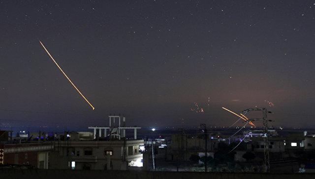 Израиль нанес удары по десяткам целей в Сирии