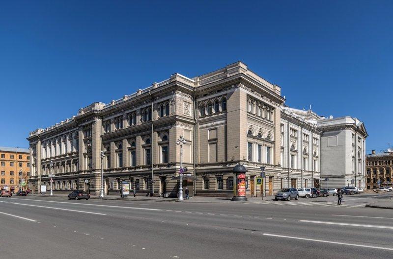 20-Здание консерватории Красивые здания, СПб, питер