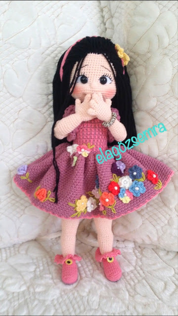 Чудесные куколки амигуруми