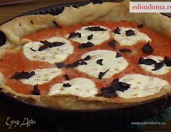 Детская пицца: рецепт «Маргариты», которую вы сможете приготовить дома кухни мира,пицца