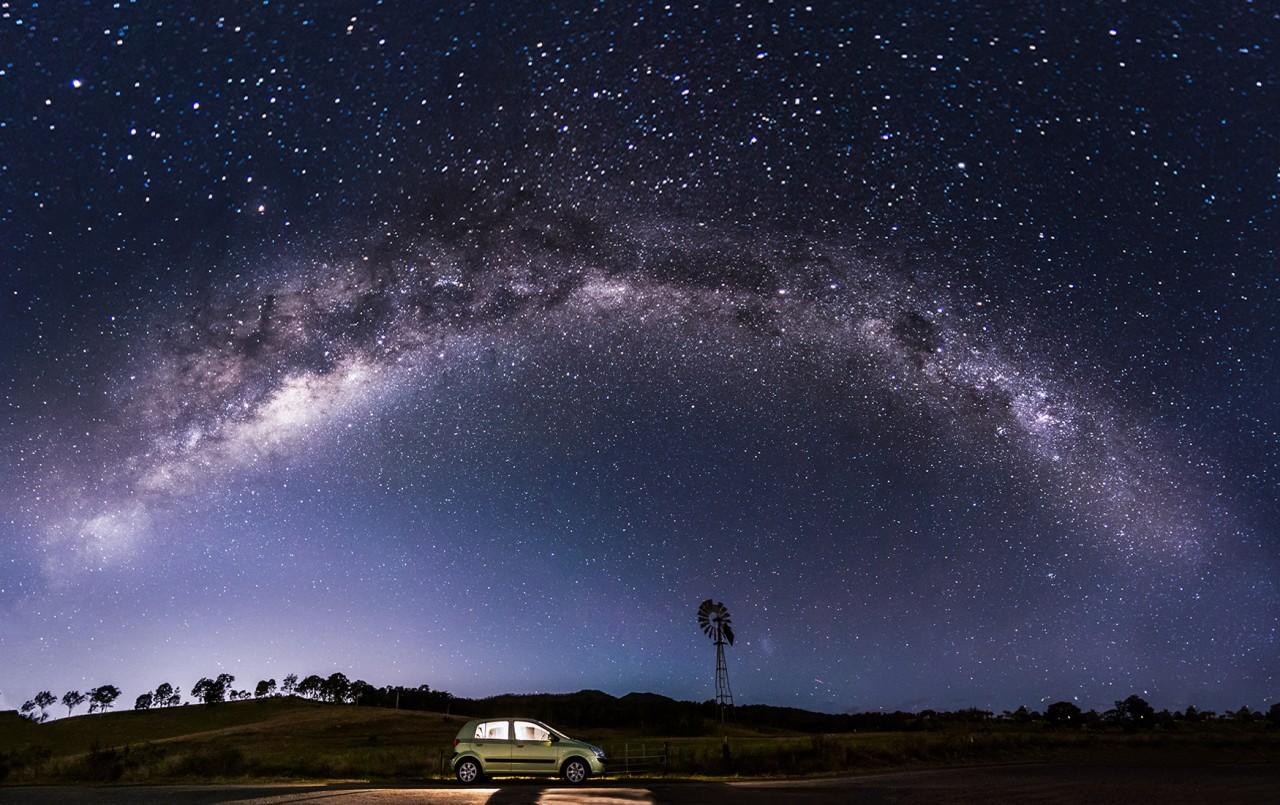 во сколько фотографировать млечный путь модель