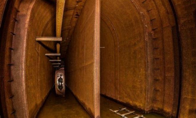 Открыл канализацию и спустился в бункер: подземный ход времен войны объект, строительства, бункера, бункер, глубоком, этажей, отдела, штабного, состоит, целых, Глубина, ведет, спутниковПодземный, шахты, уходящие, разглядеть, давала, строения, инженерного, обоих