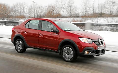 Renault Logan Stepway с вариатором: детальный тест
