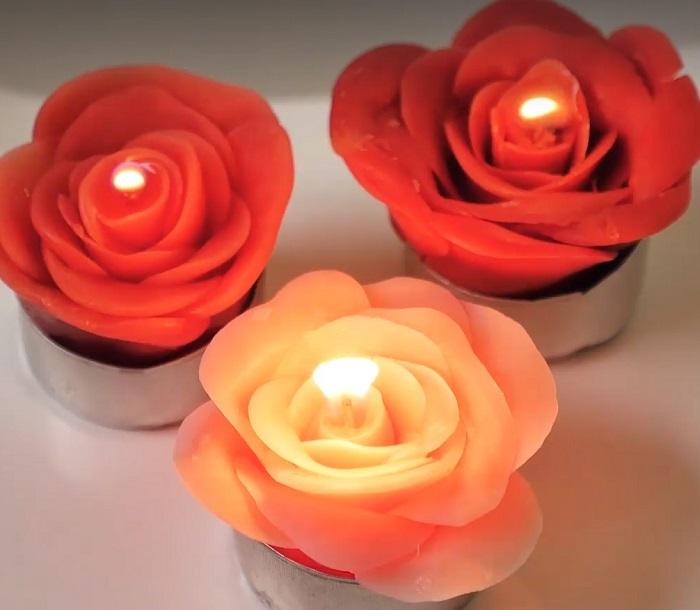 свечи своими руками из апельсина