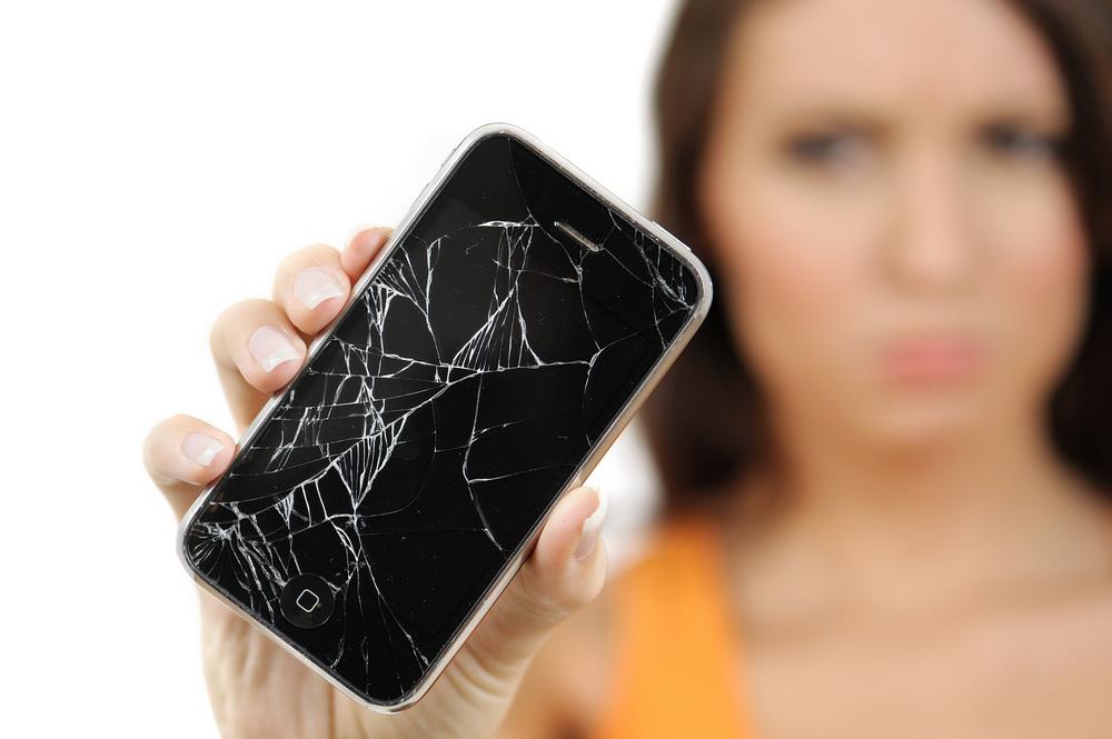 Картинка сломан телефон