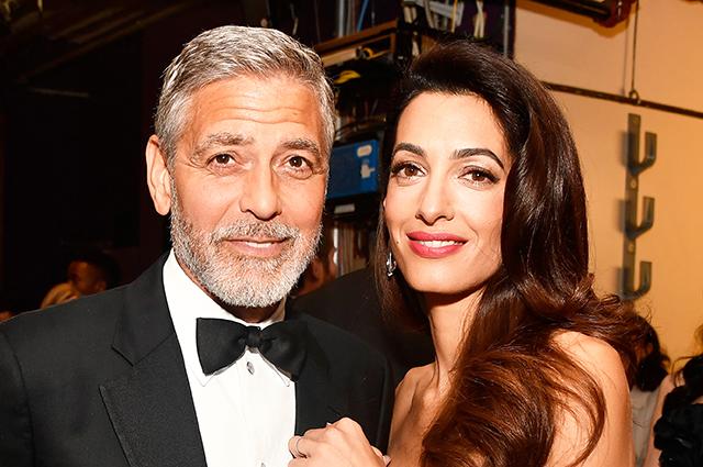 Джордж Клуни рассказал о романтике в отношениях с женой Амаль и выборе имен для их детей