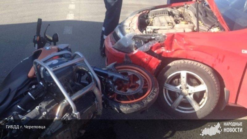 В ДТП в Череповце мотоциклис…
