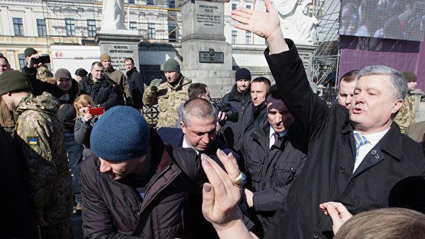Как Москва Порошенко погоду строила
