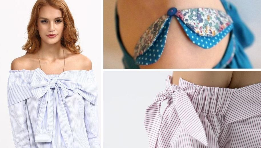 Изюминка строгого образа: стильные детали блузок