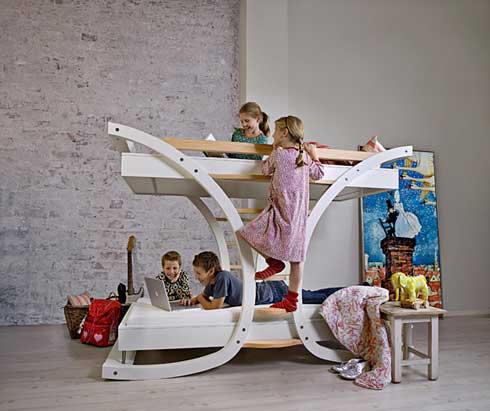 Эксклюзивная кровать для детской