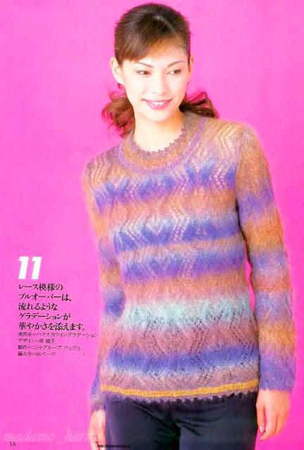 Японский журнал LET'S KNIT S…