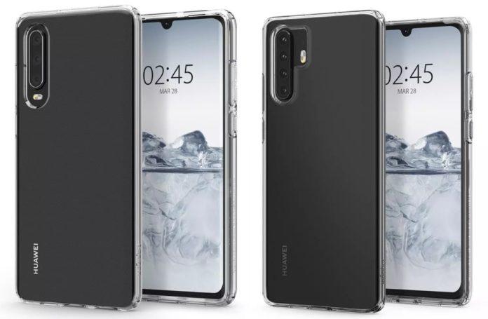 Рассекречен дизайн флагманских смартфонов Huawei P30 и P30 Pro
