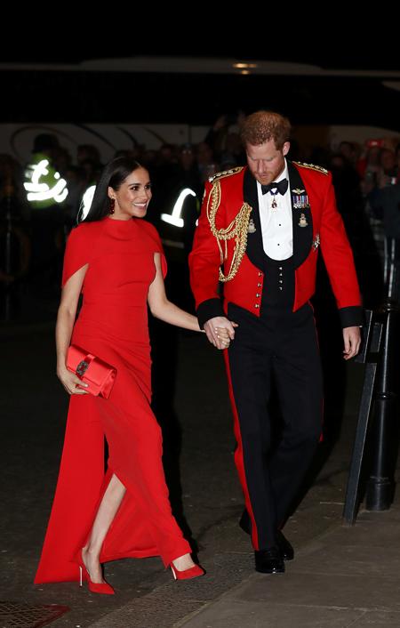 Меган Маркл и принц Гарри опубликовали прощальный пост Монархи,Британские монархи