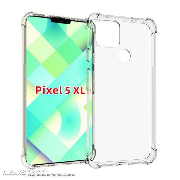 Какой же это флагман? Google Pixel 5 XL впервые показали в прозрачном чехле