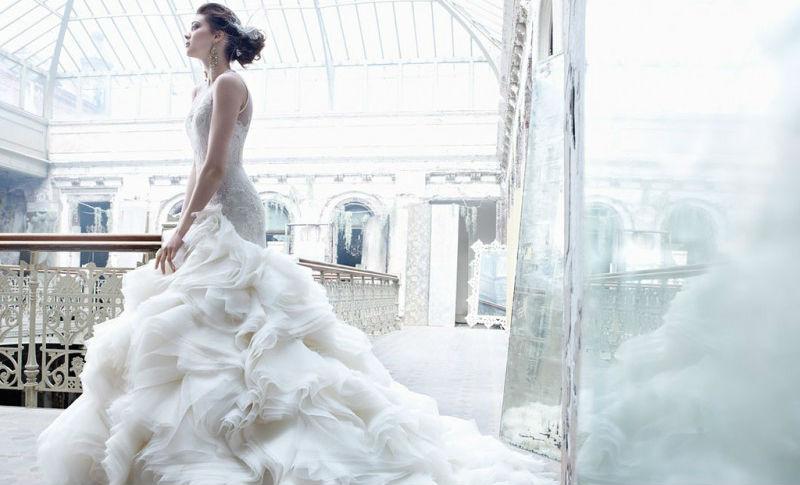 История свадебных платьев